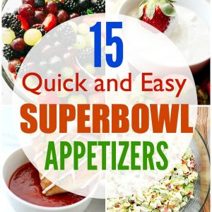 15 Quick and Easy Super Bowl Appetizers - Score a Super Bowl party-food touchdown with these delicious, quick, and easy Super Bowl appetizers!
