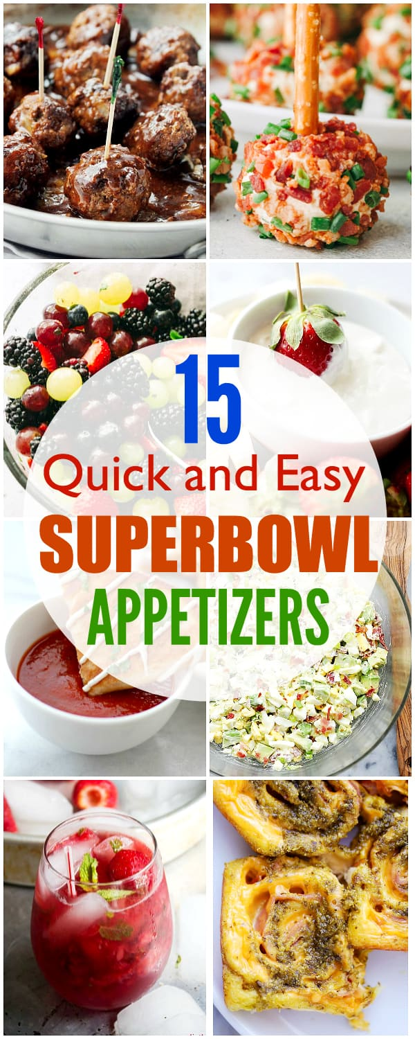 15 easy mouth watering game day appetizers must try for Super bowl appetizers pinterest