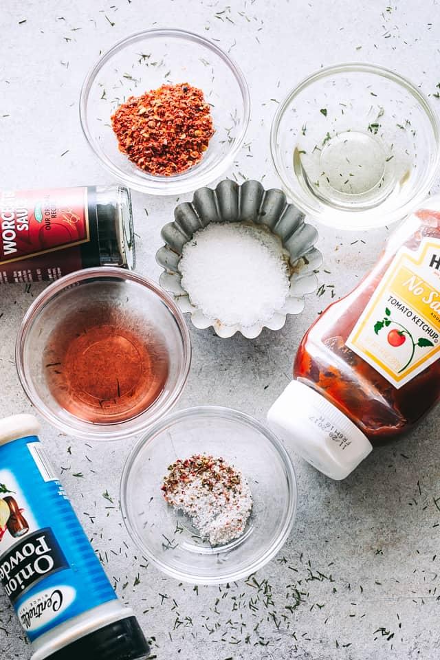 ingredients for copycat catalina dressing