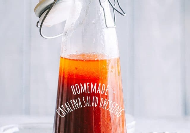 Homemade Catalina Dressing - A delicious homemade version of Catalina Dressing that is so much better than store-bought, and it's quick and easy to prepare using ingredients you already have on hand.