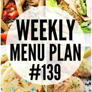 WEEKLY MENU PLAN (#139)