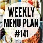 WEEKLY MENU PLAN (#141)