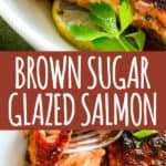 Brown Sugar Glazed Salmon Pinterest