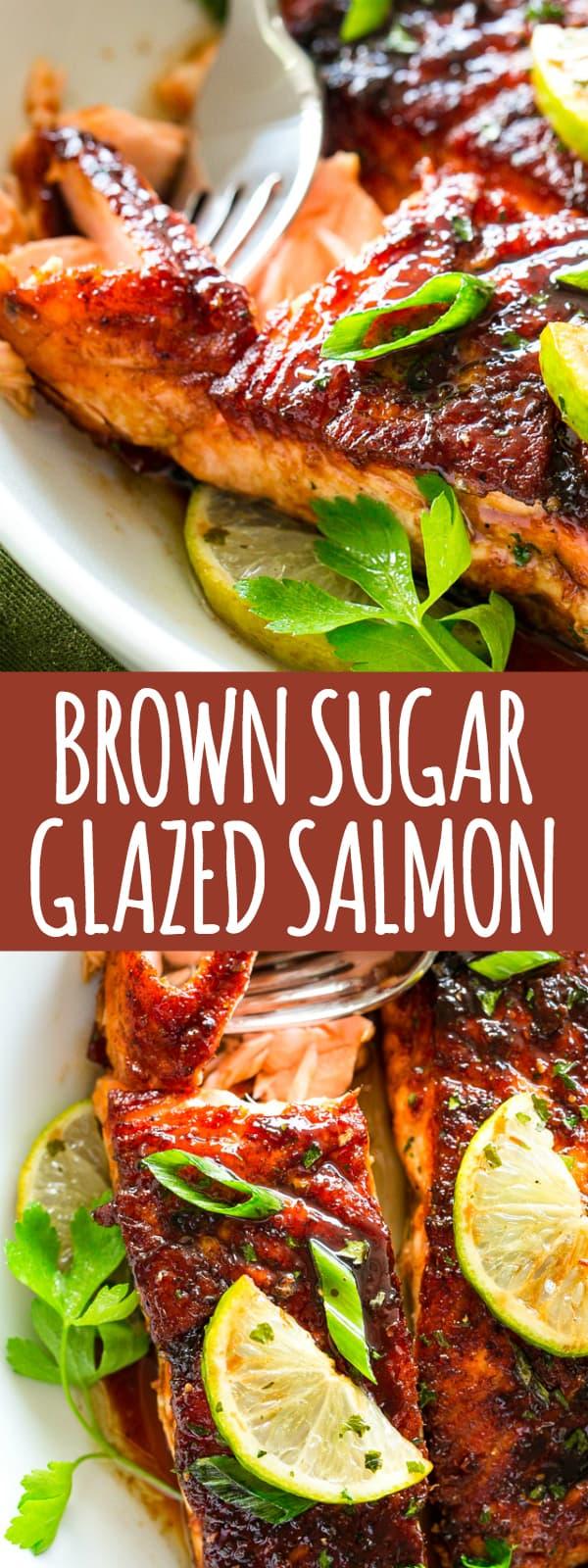 Brown Sugar Glazed Salmon Pinterest