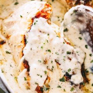 Creamy Garlic Herb Chicken Recipe