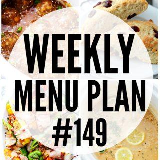WEEKLY MENU PLAN (#149)