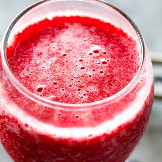 Berry Wine Slushies - A refreshing blend of frozen berries and wine results in the hottest cool drink of the summer!