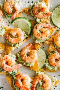 Cajun Shrimp & Guacamole Tortilla Bites | Easy Shrimp Appetizer Recipe