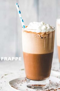 The BEST Coffee Frappe | Easy & Fancy Homemade Iced Coffee Recipe!