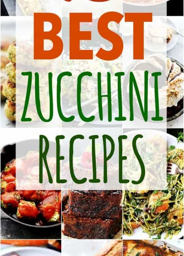 15 Best Zucchini Recipes - From zucchini bread to zucchini chips and zucchini noodles, these zucchini recipes will help you make the most of summer's most abundant veggie!
