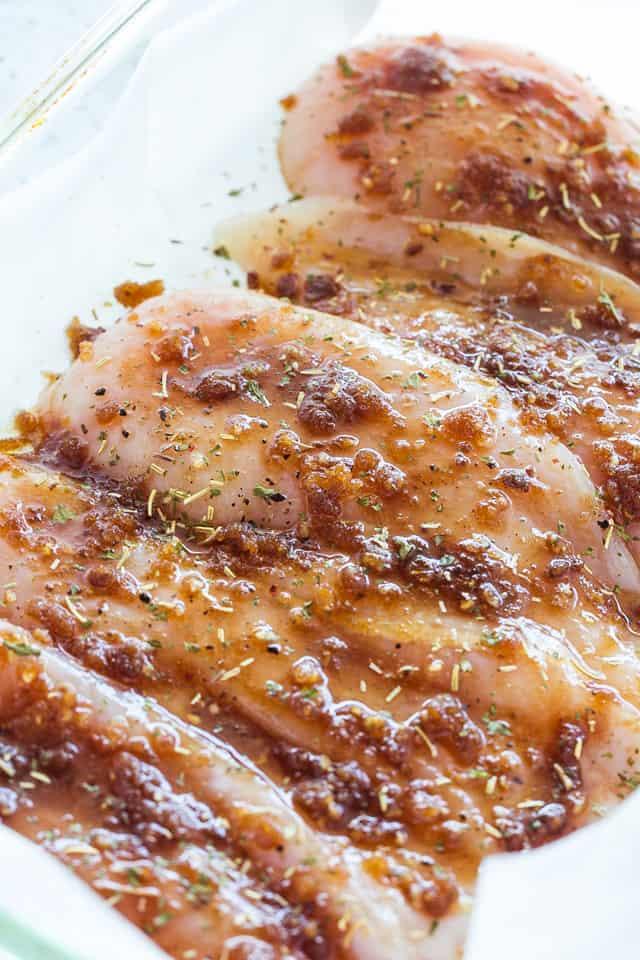 Garlic Brown Sugar Baked Chicken Recipe Diethood
