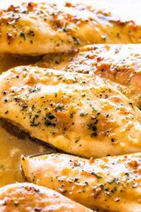 Garlic Brown Sugar Baked Chicken Recipe | Easy Oven Baked Chicken