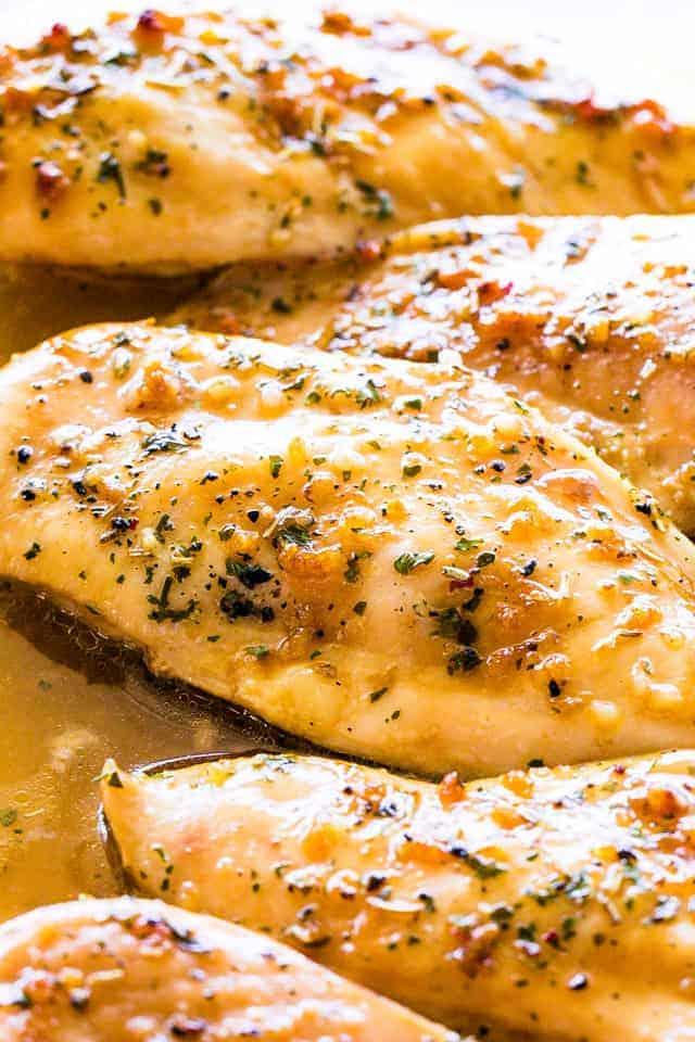 Garlic Brown Sugar Baked Chicken Recipe   Easy Oven Baked Chicken