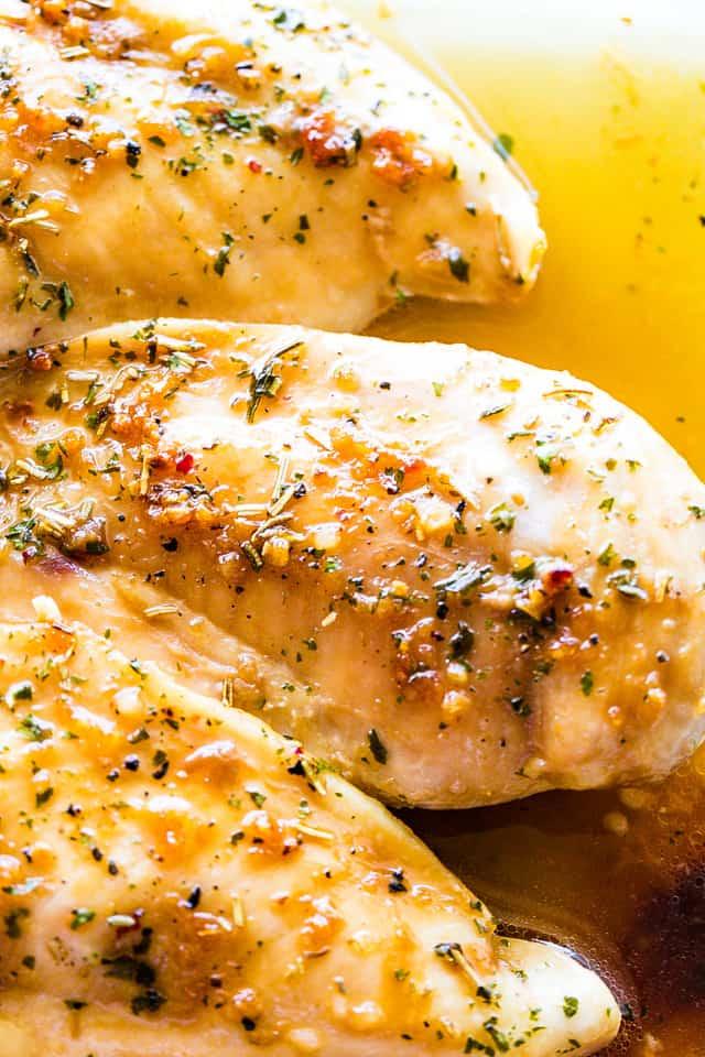 Garlic Brown Sugar Baked Chicken Breasts | Easy Chicken
