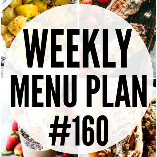 WEEKLY MENU PLAN (#160)