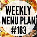 WEEKLY MENU PLAN (#163)
