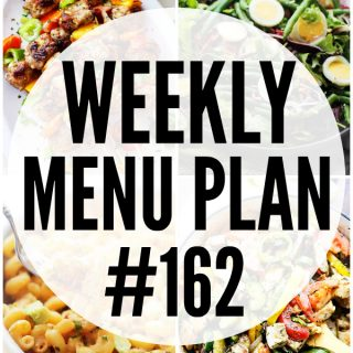WEEKLY MENU PLAN (#162)