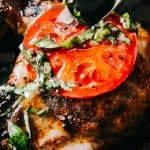 Caprese Pork Chops Recipe