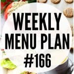WEEKLY MENU PLAN (#166)