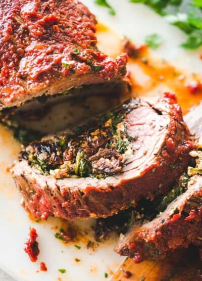 Stuffed Flank Steak Recipe | MUST TRY! Easy Steak Dinner Recipe