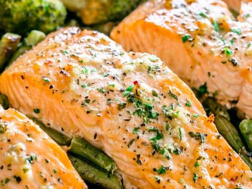Garlic Butter Salmon Recipe Easy Salmon Recipe Quick Dinner Idea