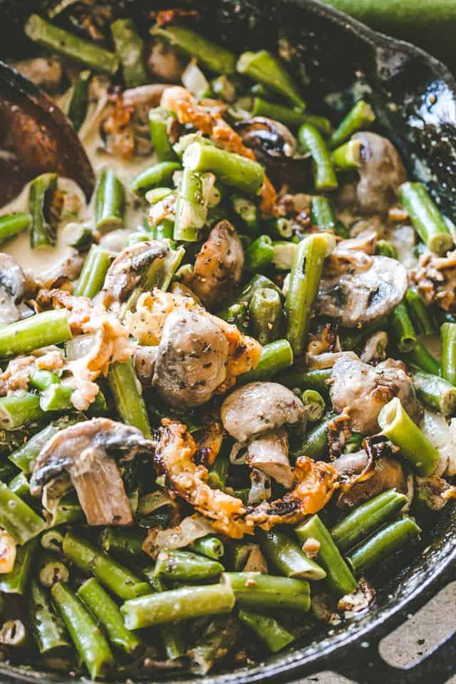 The Best Green Bean Casserole Recipe Easy Thanksgiving Sides