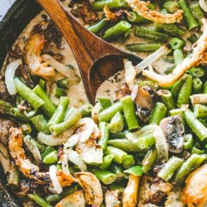 Easy Green Bean Casserole Recipe | Favorite Thanksgiving Side Dishes