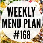 WEEKLY MENU PLAN (#168)