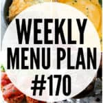 WEEKLY MENU PLAN (#170)