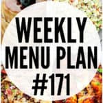 WEEKLY MENU PLAN (#171)