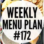 WEEKLY MENU PLAN (#172)