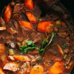 Best Ever Slow Cooker Beef Stew Recipe