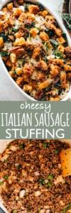 Cheesy Italian Sausage Stuffing