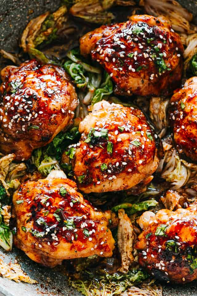 Easy Instant Pot Sticky Chicken Thighs Recipe Diethood