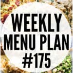 WEEKLY MENU PLAN (#175)