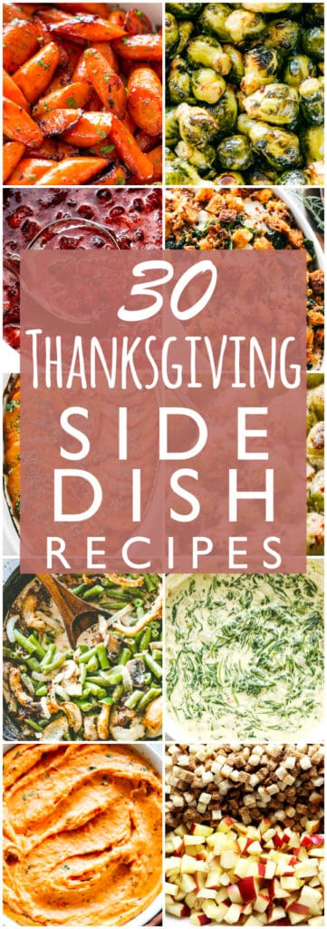 30 Thanksgiving Side Dish Recipes   Easy Holiday Side Dish Recipe Ideas