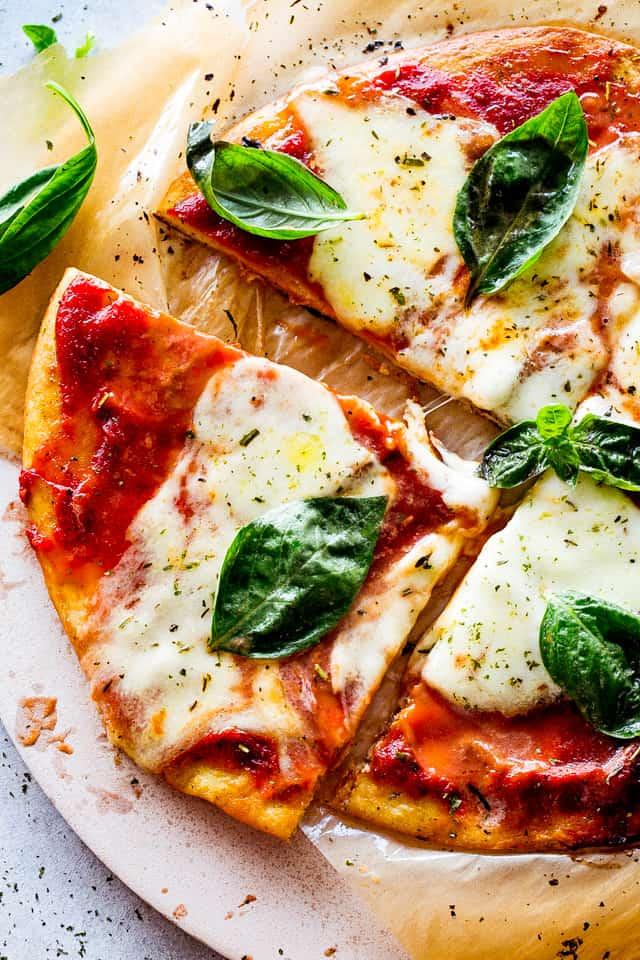 Keto Pizza Margherita