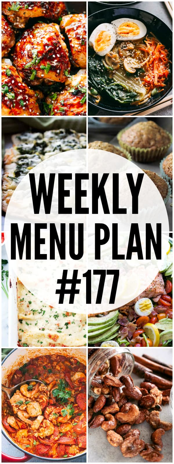 WEEKLY MENU PLAN 177