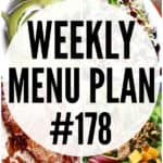 WEEKLY MENU PLAN (#178)