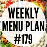 WEEKLY MENU PLAN (#179)