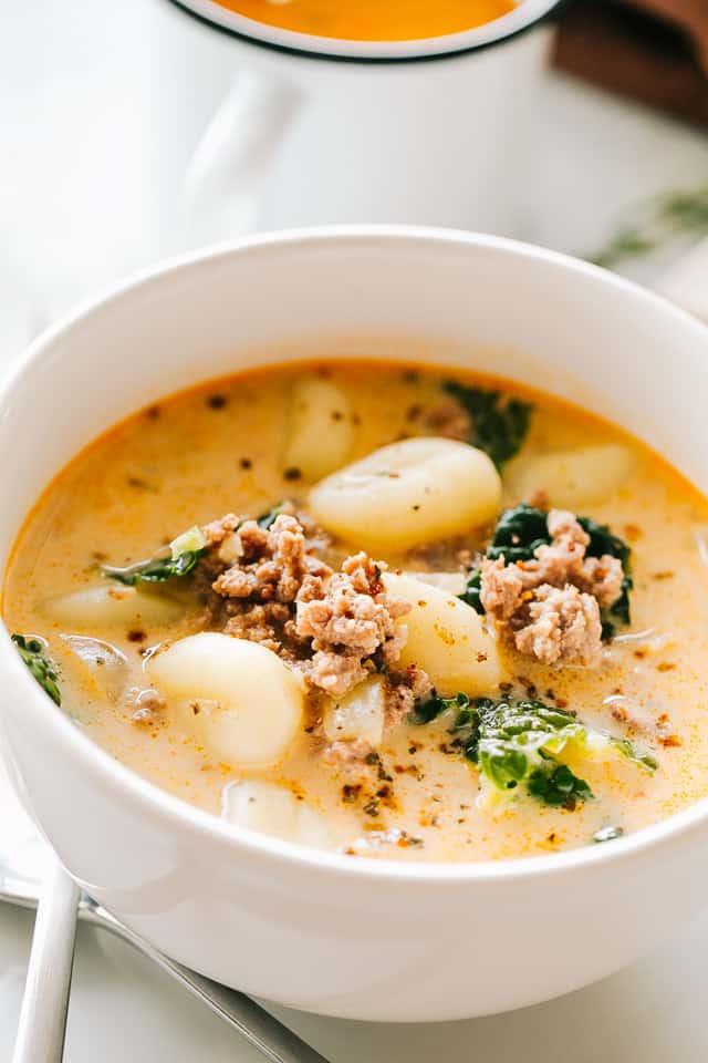 Zuppa Toscana with Gnocchi