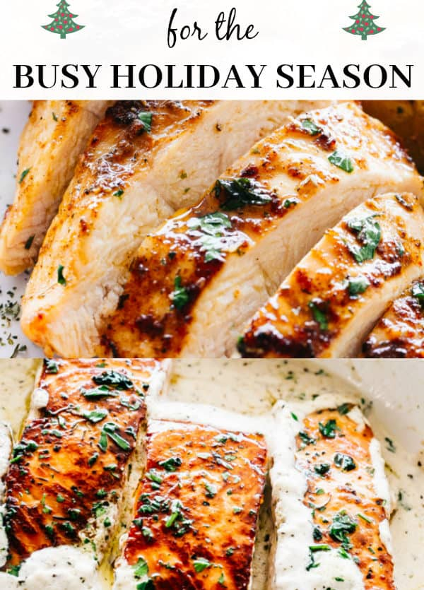 Easy and Quick Weeknight Dinners for the Busy Holiday Season