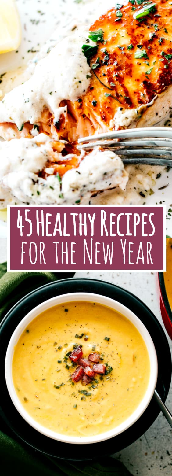 45 Healthy Recipes for the New Year