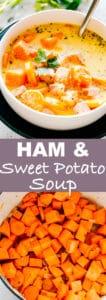 Ham Sweet Potato Soup