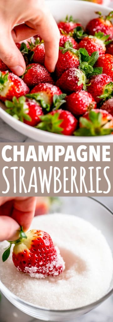 Champagne Strawberries