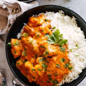 Instant Pot Butter Chicken Low Carb and Keto