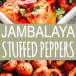 JAMBALAYA Stuffed Peppers