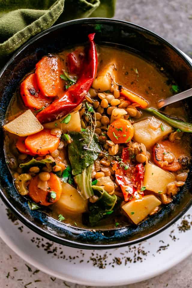 Lentil Soup Bowl