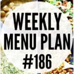 WEEKLY MENU PLAN (#186)