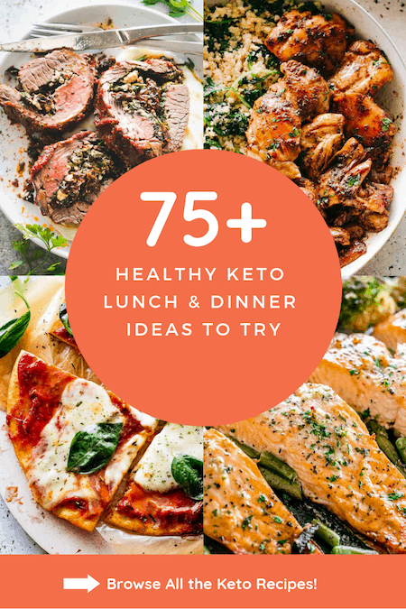 Keto Lunch and Dinner Ideas - Easy Keto Recipes